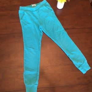 Girls Children's Place teal joggers